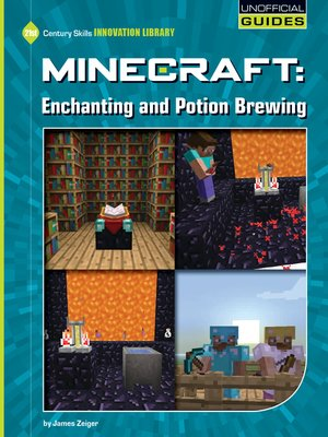 cover image of Minecraft - Enchanting and Potion Brewing